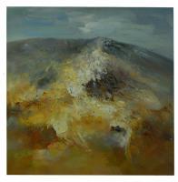 Obrazy - olej na plátně - hora po dešti - 70x80 cm - zvětšit obrázek