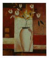 Obraz - olej na plátně - vánoční květina - 50x60 cm - zvětšit obrázek