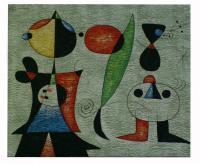 Obraz - olej na plátně - barevní vrabci - 60x50 cm - zvětšit obrázek