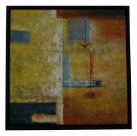 Obraz - olej na plátně - dobrá nálada - 60x60 cm - zvětšit obrázek