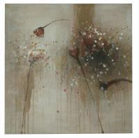 Obraz - olej na plátně - příchod podzimu - 89x89 cm - zvětšit obrázek