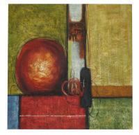 obraz - olej na plátně - advent - 89x89 cm - zvětšit obrázek