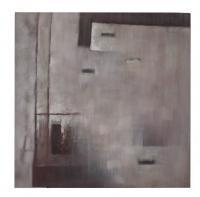 Obraz - olej na plátně - říjen v kostce - 89x89 cm - zvětšit obrázek