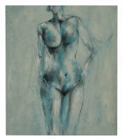 Obraz -olej na plátně - ledová královna - 70x80 cm - zvětšit obrázek