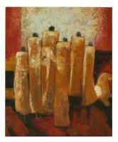 Obraz - olej na plátně - porota - 50x60 cm - zvětšit obrázek