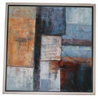 Obraz - olej na plátně - mořské dno - 60x60 cm - zvětšit obrázek